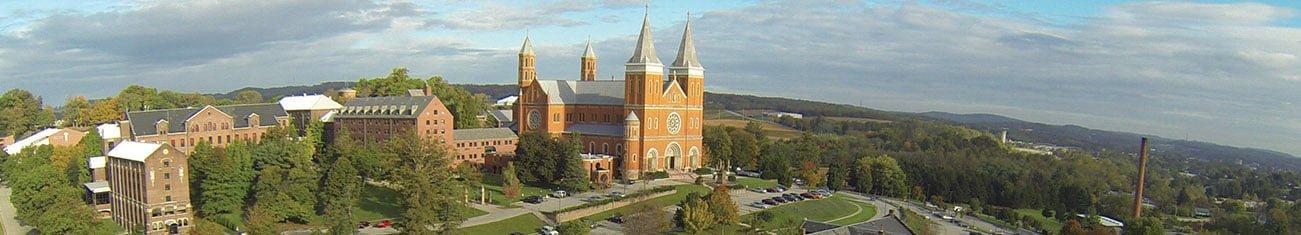 Saint Vincent Archabbey retreats, Latrobe, PA