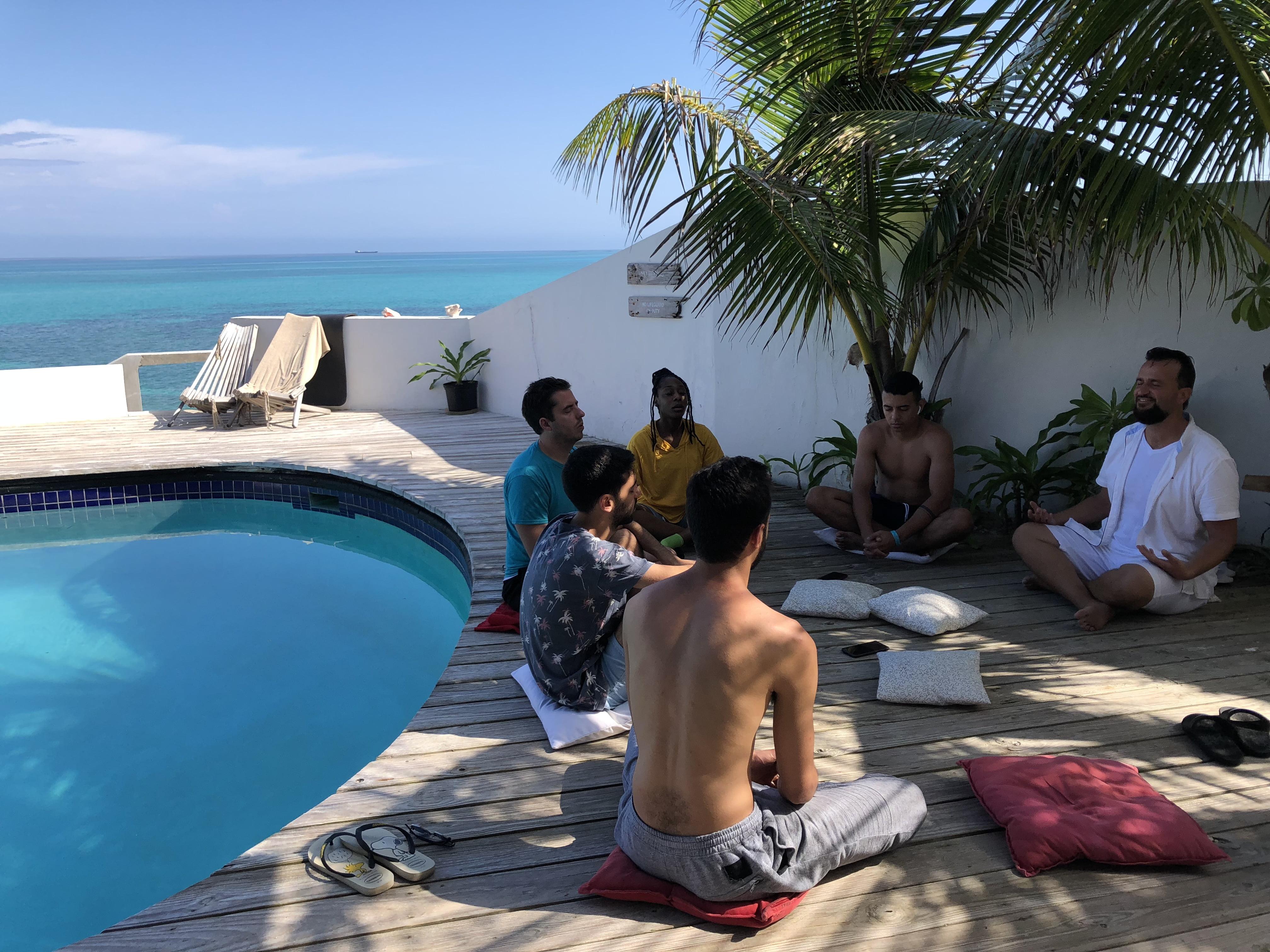 Beach Front Retreat in the Bahamas
