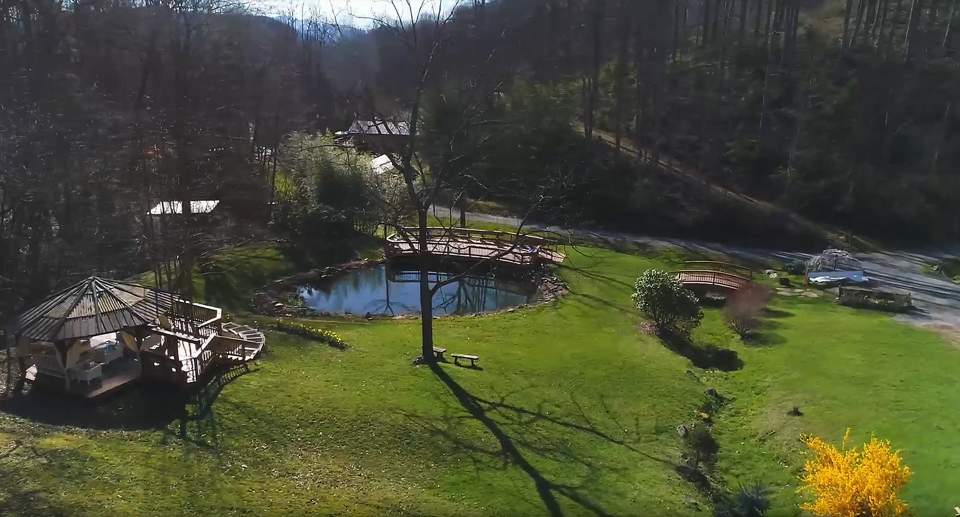 NC Mountain Retreat Center and Land for sale